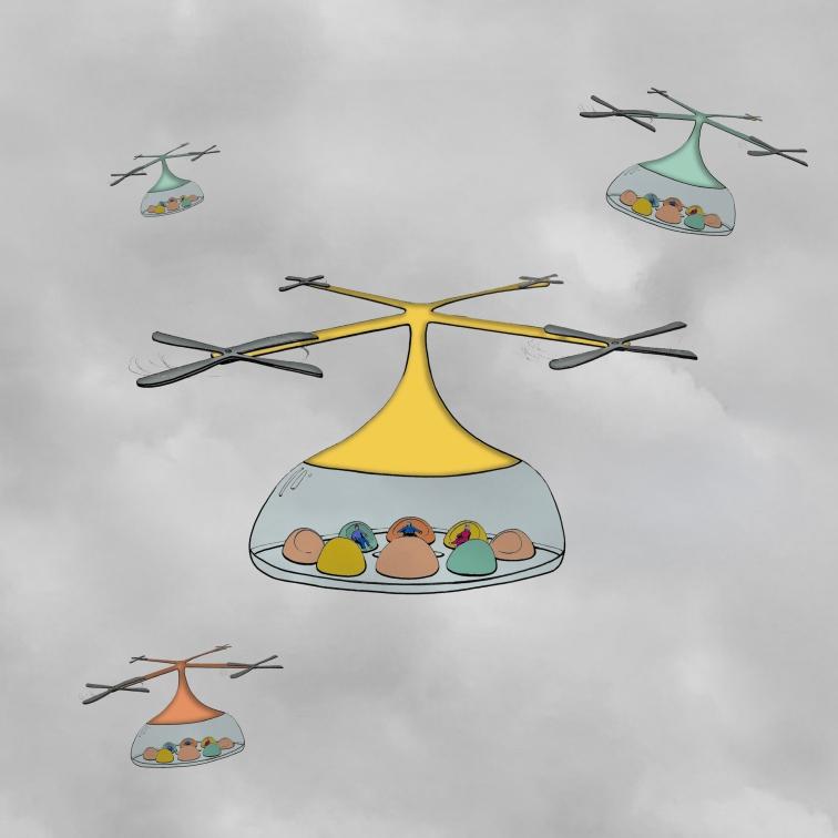 Flying Playpods