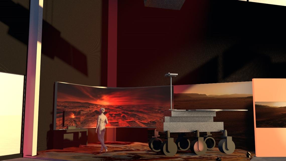 Mars Corner